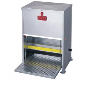 Horizont Hühnerfutterautomat mit Trittklappe