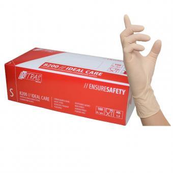 Einmalhandschuhe Latex Größe L 100-St Ungepudert