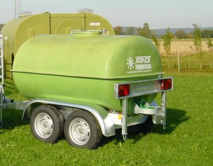 ARNDT Thermofass mit Anhänger 1.430 Liter