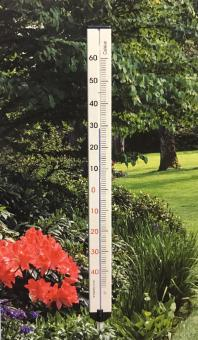 ARNDT Groß-Thermometer Gartenthermometer Metall 115 cm