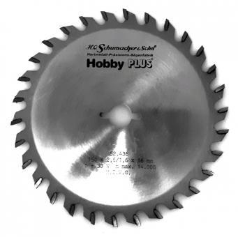 Hobby Plus Kreissägeblatt 150 mm x 16 mm x 30 Z