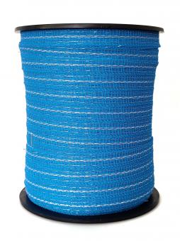 ARNDT Weidezaunband Wildabwehr 200m, 12mm, 3 x 0,20 TBM, blau