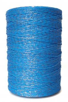 ARNDT Weidezaunlitze Wildabwehr 1000m, 2mm, 6x0,20mm TBM, blau