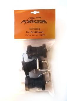 Gallaghre Eckrolle für Breitbänder 20 mm und 40 mm