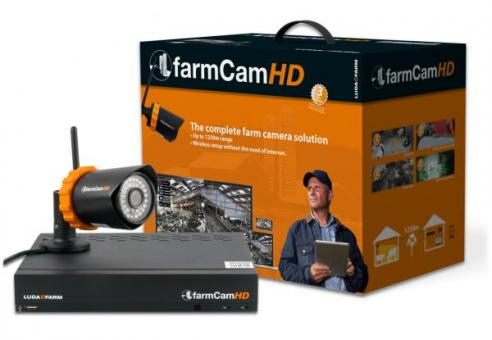 Luda farmCam HD Überwachungskamera Komplettset