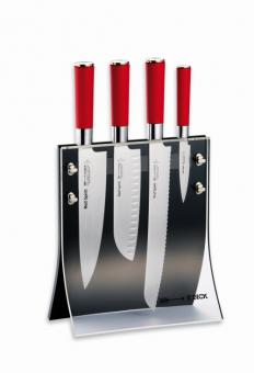 DICK Messerblock 4Knives, Red Spirit, 5 tlg.