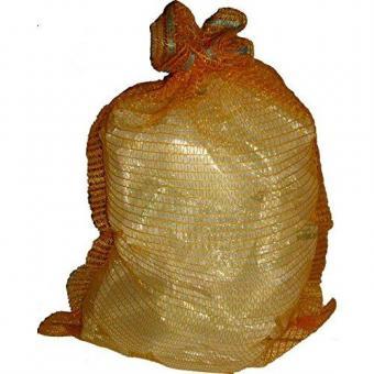 Raschelsäcke, Kartoffelsack, Gemüsesack, Zwiebelsack, 100 Stück