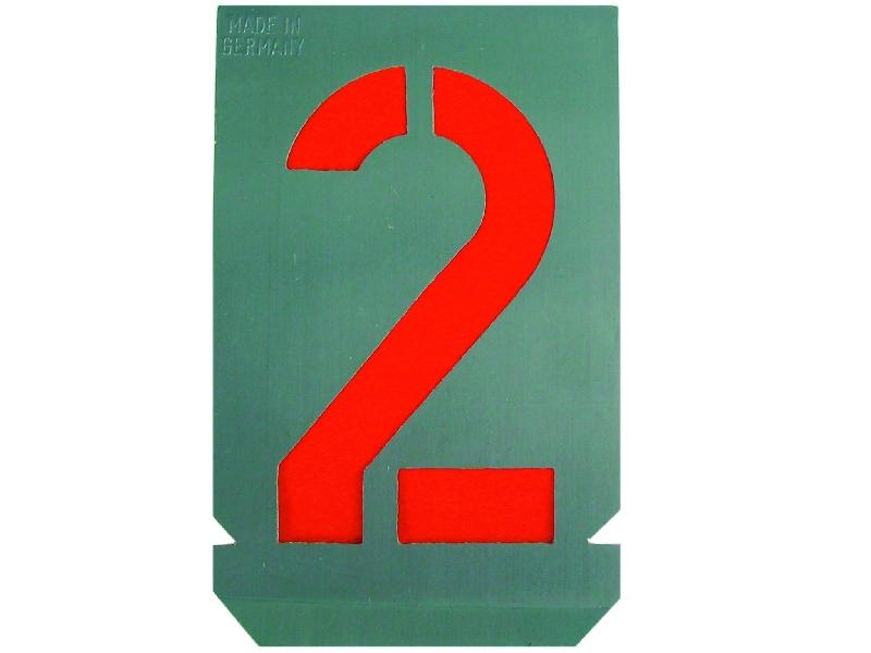 Arndt signierschablonen-Set di di di numeri-Stencil numeri 7f9be1