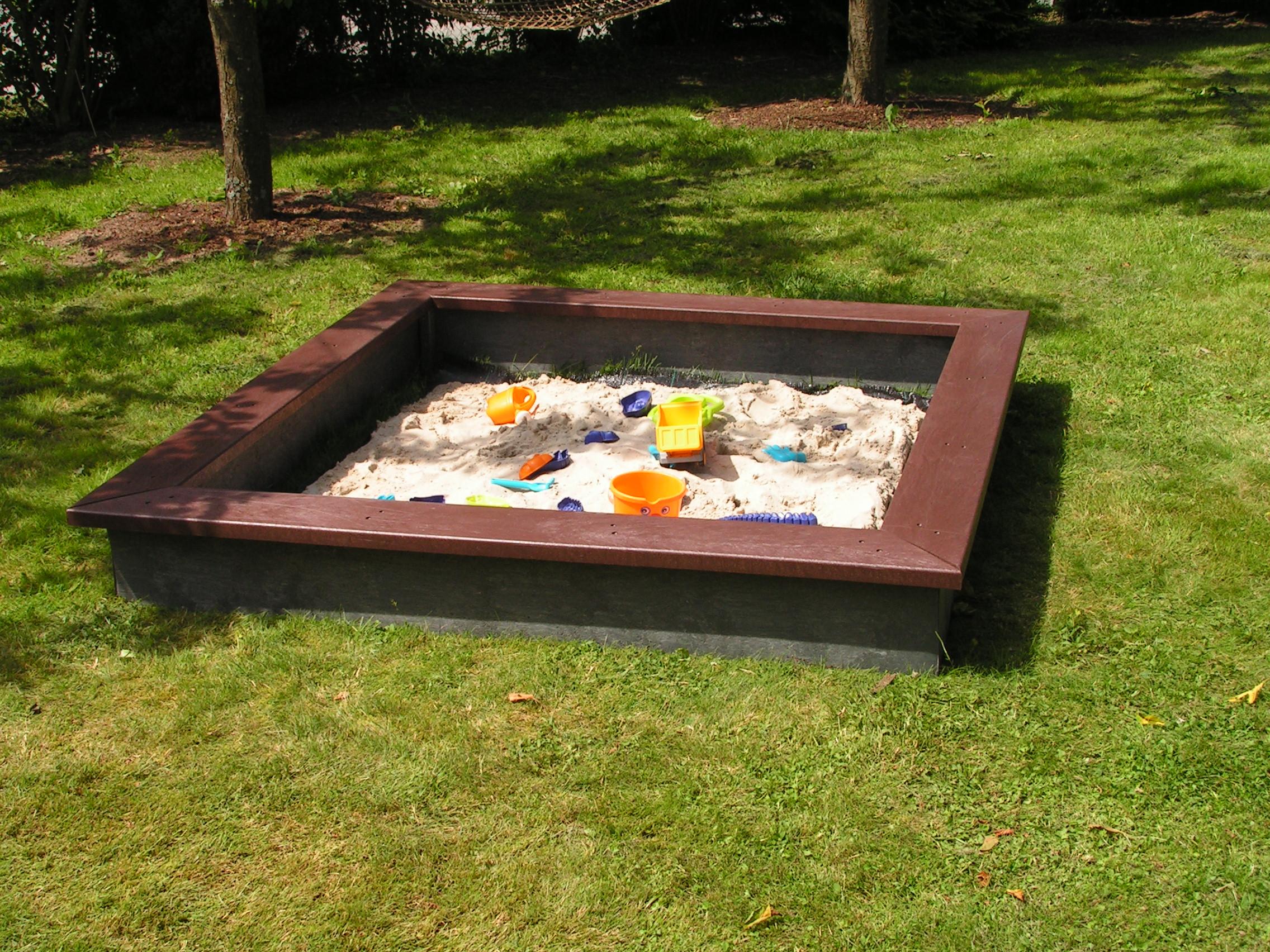 sandkasten sahara 200 x 200 cm arndt. Black Bedroom Furniture Sets. Home Design Ideas