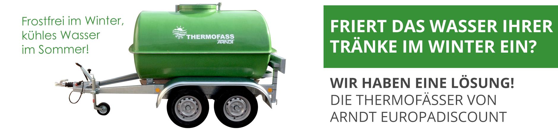 Thermofass 1430 Liter frostfrei