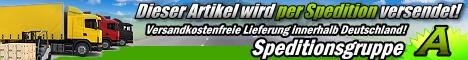 Artikel wird per Spedition versendet - Versandkostenfreie Lieferung innerhalb Deutschland.